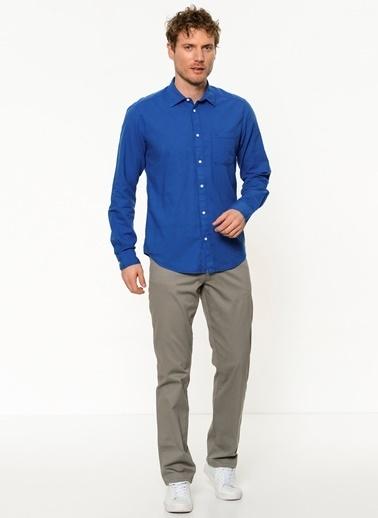 Wrangler Uzun Kollu Gömlek Mavi